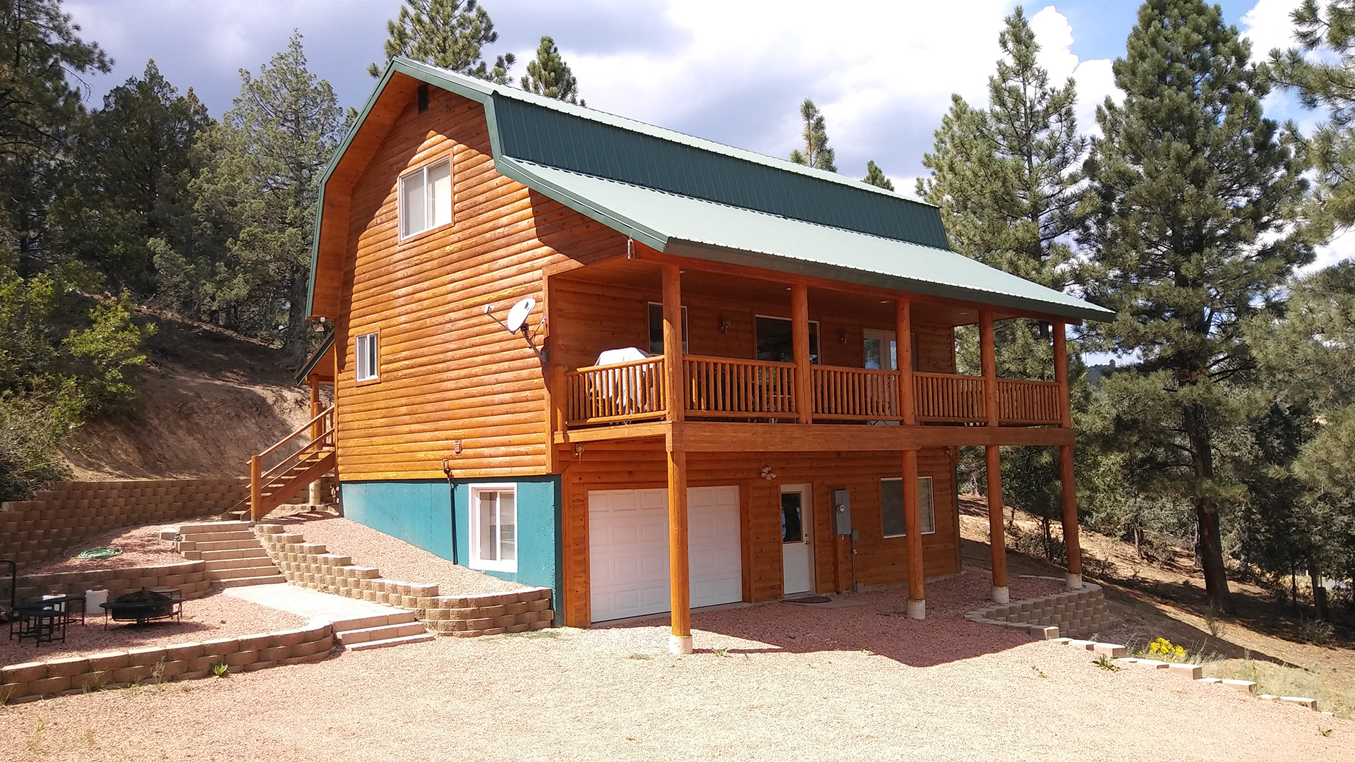 Private vacation rentals in southern utah near bryce for Cabin rentals near zion national park